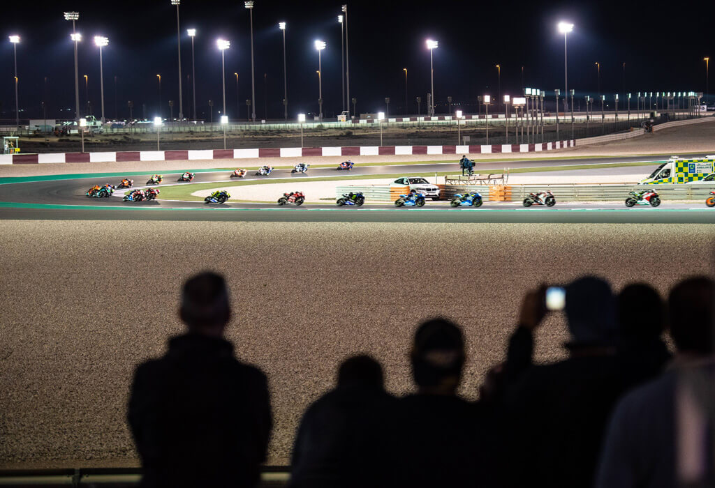 LOSAIL CLUB GRANDSTAND  TURN 10